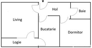 Apartament premium 2 camere, Plaza Residence, Bucuresti. Complet dotat si utilat. Nou.  - imagine 10