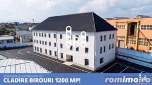 Cladire renovata 1200 mp birouri si alte destinatii - imagine 1