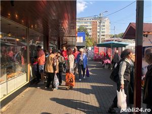VAND spatiu comercial 55 mp in  PIATA NORD Ploiesti, si utilaje frigorifice:mese inox alimentar etc. - imagine 9