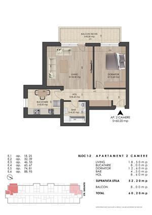 Apartamente 2 camere la 10 min de metrou Dimitrie Leonida - imagine 1