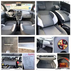 Dacia Sandero*1.2 benzina*clima*81622 km*Tuv Germania*af.2015*euro 5 - imagine 4