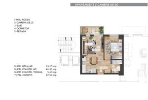 Apartament 2 Camere / Belvedere Residences - imagine 10