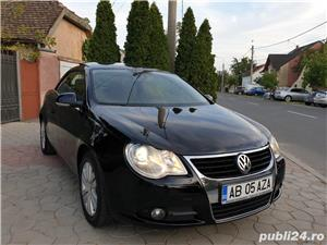 Volkswagen Eos 2.0 TDI 140 CP 2007 Panoramic Decapotabil - imagine 11