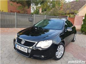 Volkswagen Eos 2.0 TDI 140 CP 2007 Panoramic Decapotabil - imagine 1