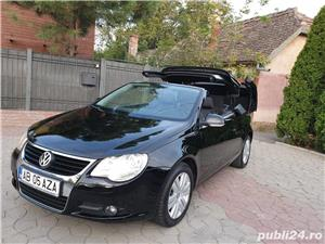 Volkswagen Eos 2.0 TDI 140 CP 2007 Panoramic Decapotabil - imagine 18