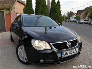 Volkswagen Eos 2.0 TDI 140 CP 2007 Panoramic Decapotabil - imagine 4