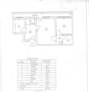 apartament 2 camere Ion Mihalache - imagine 6