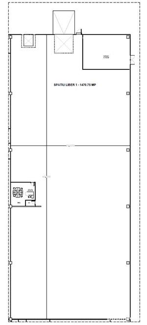 Spatiu industrial de inchiriat 1500 m2 - 4 Eur/m2 - imagine 10