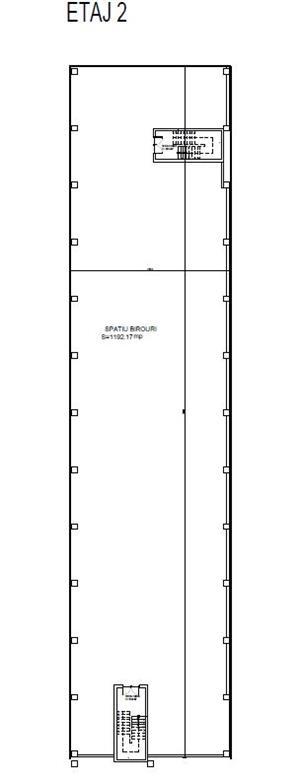 Spatiu birouri de inchiriat 770 m2 - 5.5 Eur/m2 - imagine 7
