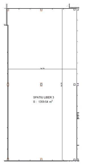 Spatiu industrial de inchiriat 1360 m2 - 4 Eur/ m2 - imagine 2