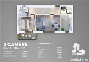 Apartament 2 camere langa Carrefour Grand Arena - imagine 1