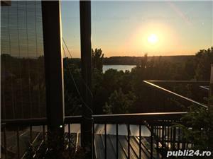 Proprietar vand penthouse cu terasa/gradina rooftop situat in complex rezidential acces lac,ponton - imagine 2