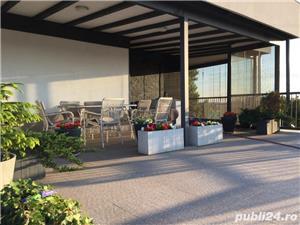 Proprietar vand penthouse cu terasa/gradina rooftop situat in complex rezidential acces lac,ponton - imagine 9