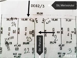 Proprietar teren Moșnița pe colt, 2 fronturi 30,5/20, ideal duplex sau individuala, pădurea Bistra,  - imagine 5