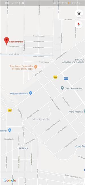 Proprietar teren Moșnița pe colt, 2 fronturi 30,5/20, ideal duplex sau individuala, pădurea Bistra,  - imagine 8