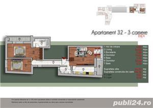 Unirii - 3 camere, la 400 metri de metrou Tineretului - imobil nou - imagine 2
