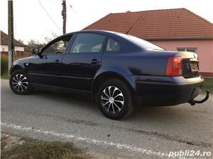 VW Passat B5 1,9 TDI 116 Cp Euro 3 6+1 Viteze Klimatronic Piele Alcantara - imagine 2