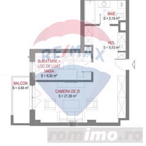 Sublim! Apartament luminos cu 1 camera langa cladirea VOX Torontalului - imagine 8