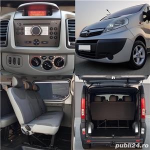 Opel Vivaro Extra Lung 2.0 CDTI Diesel 8+1-Locuri - imagine 8