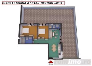 Apartament | Terasa de 118 mp | 3 camere | Zona Turnisor - imagine 3