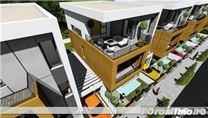 CITY RESIDENT - Finisaje 5*****! Zona rezidentiala exclusivista, vila/ casa, categorie lux - imagine 3