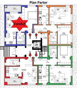 Apartament 2 camere 50,15mp parter in bloc 2019 cu loc de parcare gratuit - imagine 3