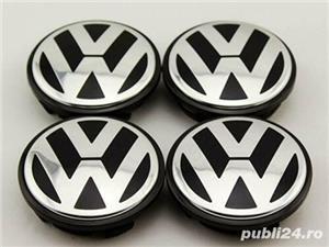 Capace jante aliaj Volkswagen / 65 mm / Set 4 Buc /Cod 3B7601171 Originale **NOU - imagine 1