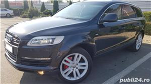 Audi Q7 S-line,sapte locuri,plafon panoramic,padele volan,proprietar,certificat fiscal pe loc! - imagine 1