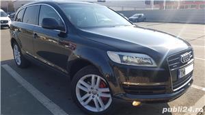 Audi Q7 S-line,sapte locuri,plafon panoramic,padele volan,proprietar,certificat fiscal pe loc! - imagine 2
