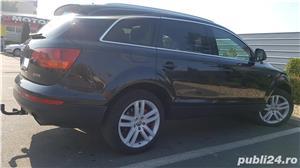 Audi Q7 S-line,sapte locuri,plafon panoramic,padele volan,proprietar,certificat fiscal pe loc! - imagine 4