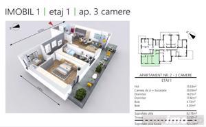 DEZVOLTATOR   Apartament NOU 3 camere   2 bai   etaj 1 - imagine 2