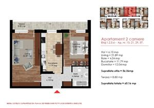 Berceni/Dimitrie Leonida - Proiect Nou, apartament 2 camere - imagine 9