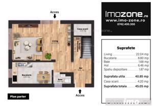 Casa / Vila, finisata la cheie, 4 camere, 3 bai, 110 mp, sector 5, comision 0% - imagine 18