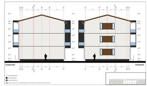 De vanzare teren cu proiect si autorizatie de constructie pentru blocuri noi Timisoara Giroc Braytim - imagine 5