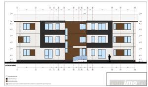 De vanzare teren cu proiect si autorizatie de constructie pentru blocuri noi Timisoara Giroc Braytim - imagine 3