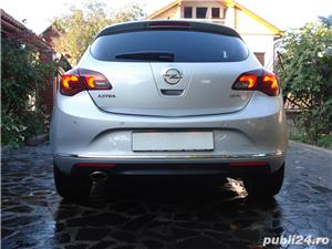Opel Astra 2014, 2.0 CDTI 165 CP automat TVA deductibil  - imagine 3