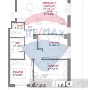 Comision 0%! Apartament cu 4 camere langa cladirea VOX Torontalului - imagine 2