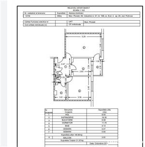 Apartament 2 camere, decomandat, Bd. Bucuresti, Ploiesti - imagine 1