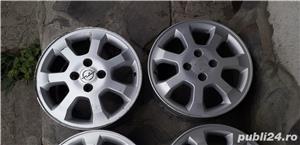 4 jante 15'' Njoy pe Opel Astra G 4x100 - imagine 2