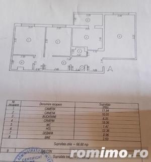Apartament cu 3 camere, zona Tomis III - imagine 3