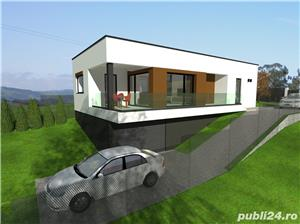 70.500 E ! Au mai ramas 2 case elegante si functionale 125 mp cu garaj si 4,5 ari teren - imagine 2