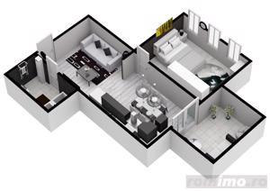 Stoc limitat! Apartament 2 camere | 51 mp | Turnişor - imagine 3