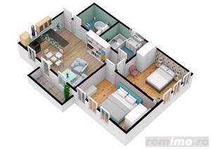 Apartament cu 3 camere | Pret accesibil | 69.7 mpu - imagine 6