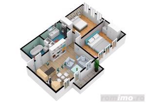 Apartament cu 3 camere | Pret accesibil | 69.7 mpu - imagine 3