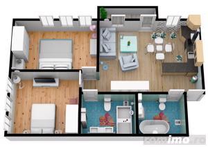 Apartament cu 3 camere | Pret accesibil | 69.7 mpu - imagine 5