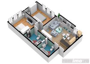 Apartament cu 3 camere | Pret accesibil | 69.7 mpu - imagine 2