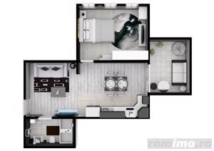 Stoc limitat! Apartament 2 camere | 51 mp | Turnişor - imagine 2