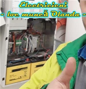 ELECTRICIENI cu experiență în domeniul construcțiilor navale sau industriale, muncă Olanda - imagine 1