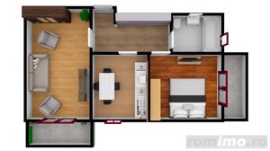 Apartament | 2 camere | 51 mpu | Dezvoltator | Intabulate - imagine 5