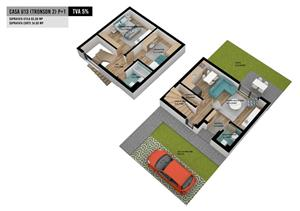 Casa apartament in complex white homes concept - u13 - imagine 6